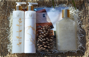 Signature Three Piece Spa Gift Basket