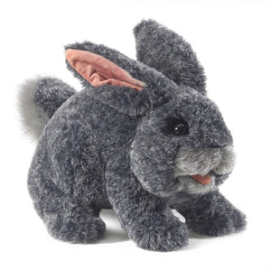 Gray Bunny Rabbit Puppet