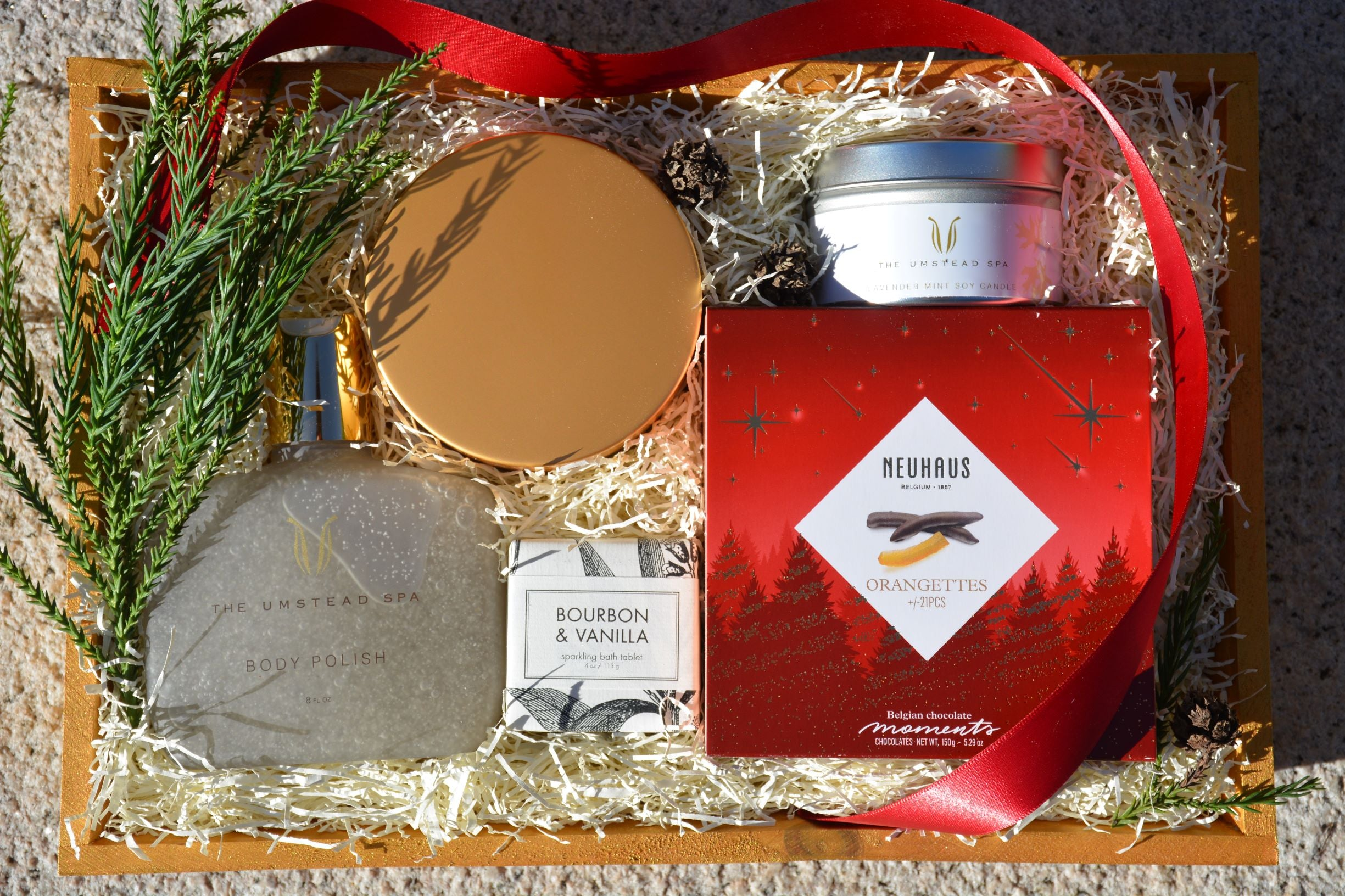 Holiday Five Piece Gift Basket