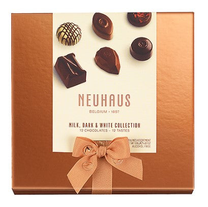 Milk, Dark & White Collection 12 pieces by Neuhaus
