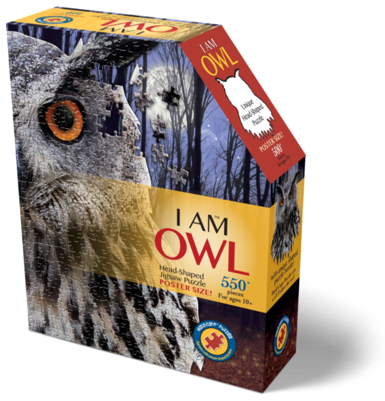 I am Owl 550 Piece Puzzle