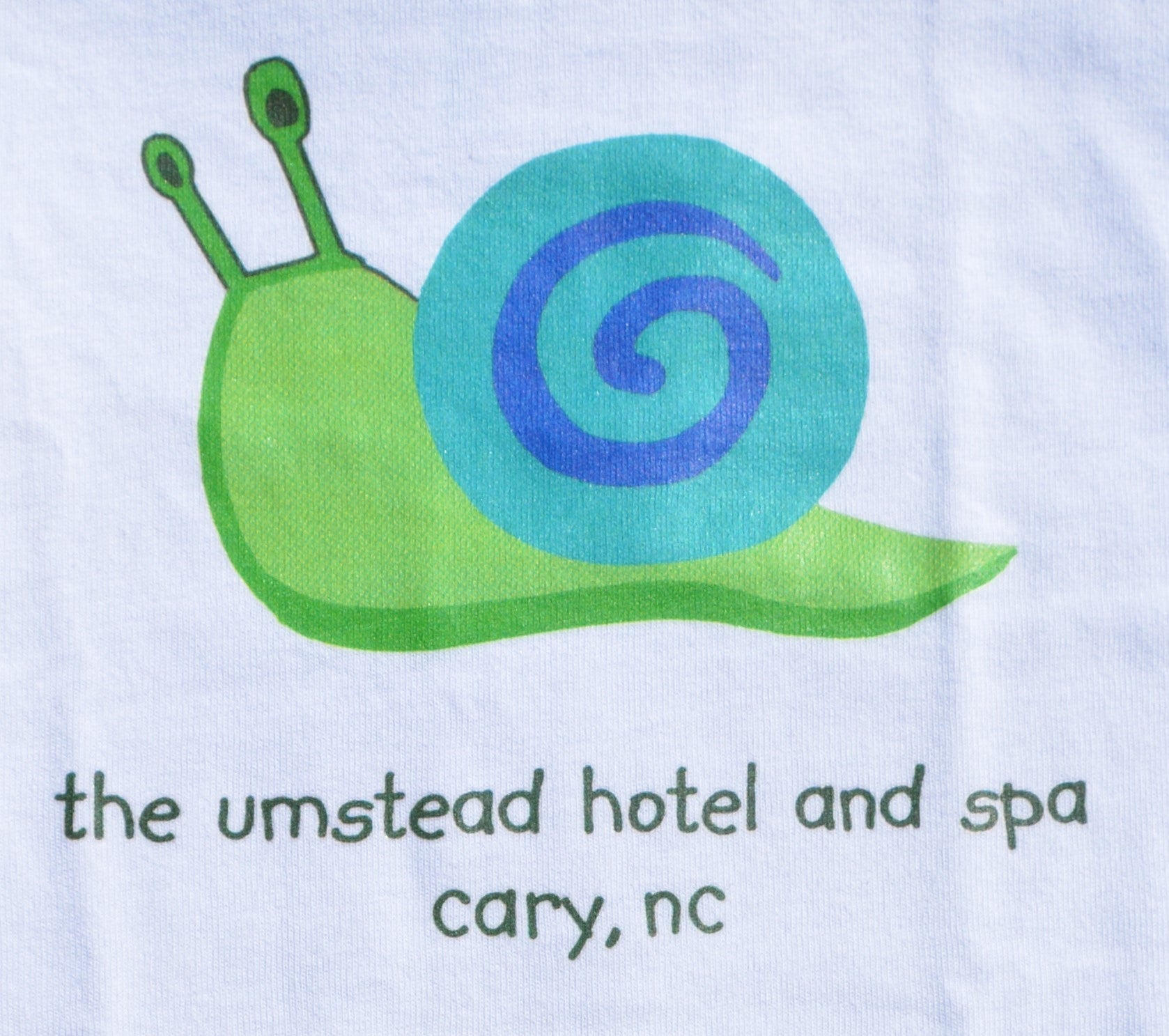 Umstead Hotel and Spa Snail T Shirt