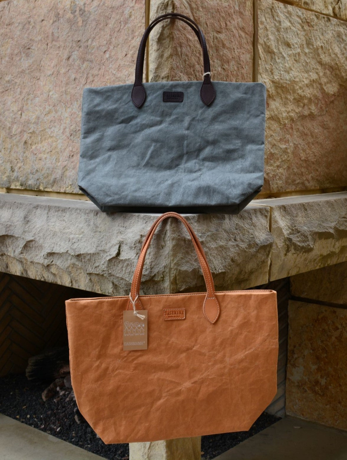 Totty Tote Large in Dark Grey