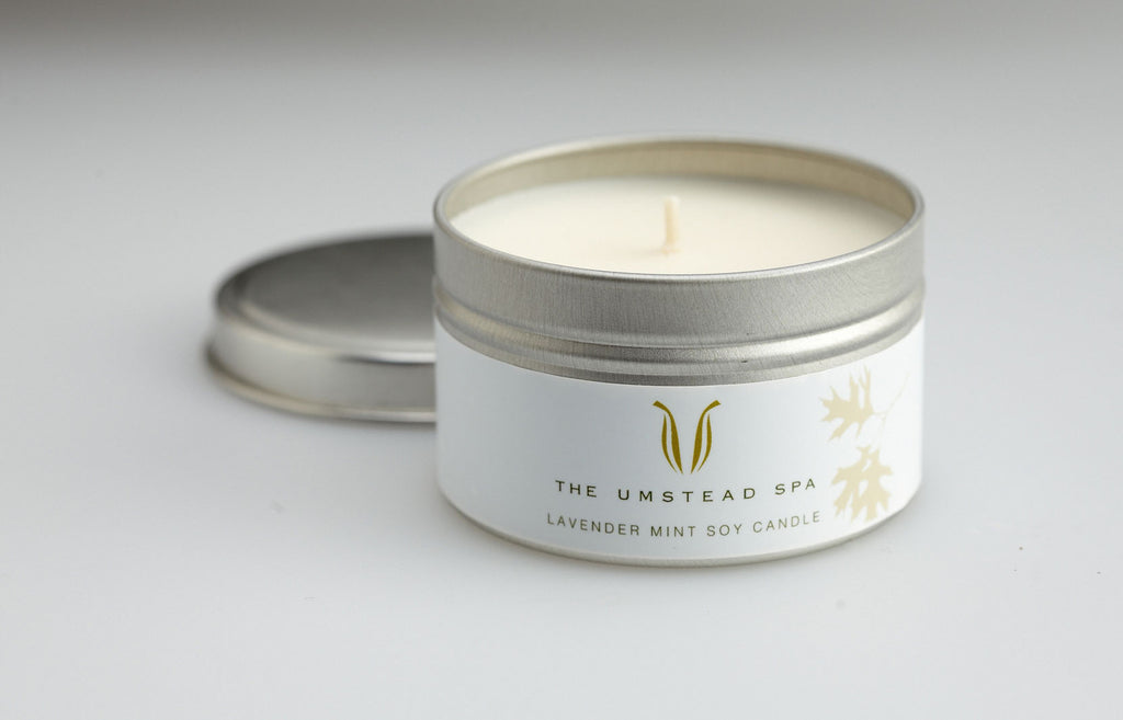 Hand-poured  Lavender Mint Soy Candle