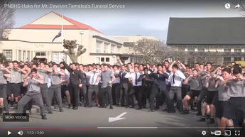 The most emotional Haka we've ever seen