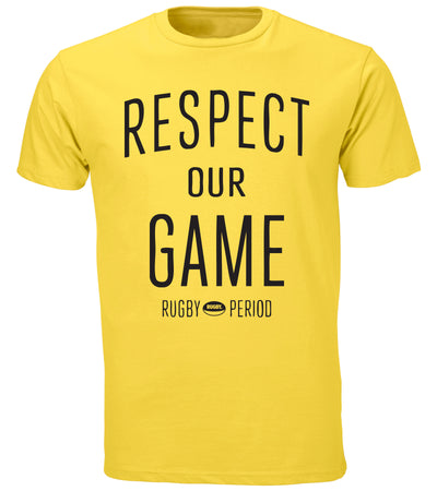 Respect Our Game Tee