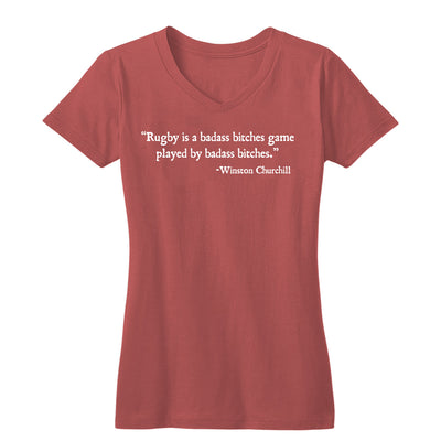 Badass by Max Rugby Women's Tee