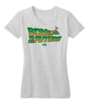 Bok to the Future Women's V-neck Tee
