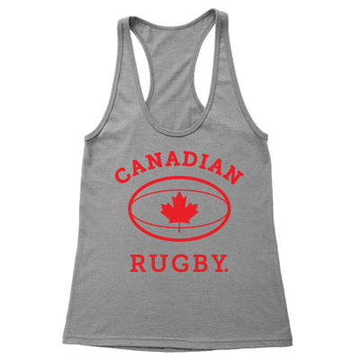 Canadian Rugby Women's Racerback Tank