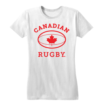 Canadian Rugby Women's Tee