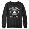 Canadian Rugby (White) Crewneck