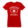 Canadian Rugby (White) Women's Tee