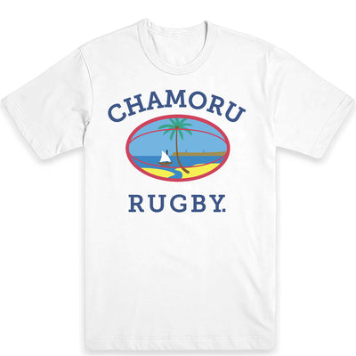 Chamoru Rugby (Full Color) Men's Tee