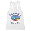 Chamoru Rugby (Full Color) Women's Racerback Tank