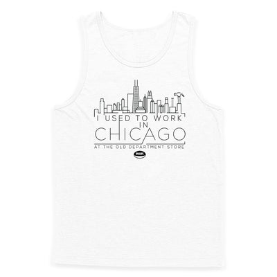 I Used to Work in Chicago Tank Top