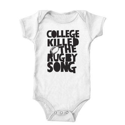 College Killed the Rugby Song Onesie