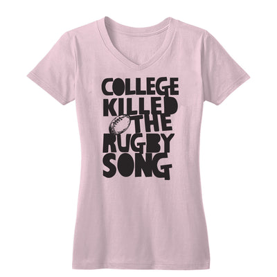 College Killed the Rugby Song Women's V