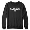 College Rugby (White) Crewneck
