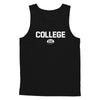 College Rugby (White) Tank Top