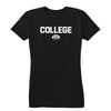 College Rugby (White) Women's Tee