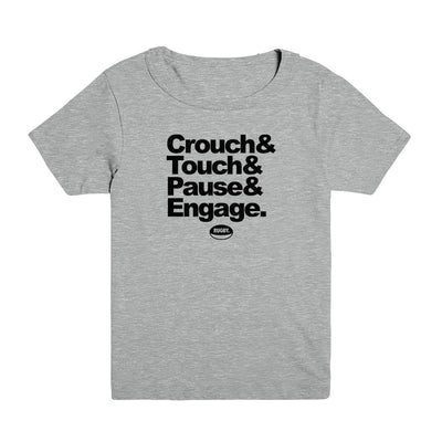 Crouch Touch Pause Kid's Tee