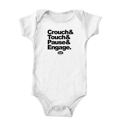 Crouch Touch Pause Onesie