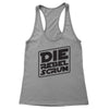Die Rebel Scrum Women's Racerback Tank