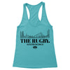 Here for The Rugby Women's Racerback Tank