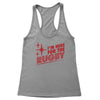 I'm Here For the Rugby And Stuff Women's Racerback Tank
