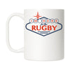 I'm Here For The Rugby Sign Mug