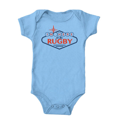 I'm Here For The Rugby Sign Onesie