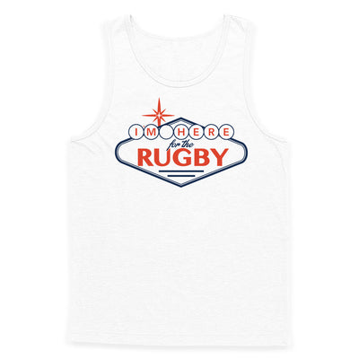 I'm Here For The Rugby Sign Tank Top