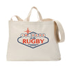 I'm Here For The Rugby Sign Tote Bag