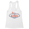 I'm Here For The Rugby Sign Women's Racerback Tank