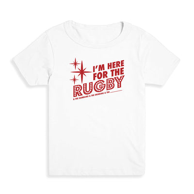 I'm here for the rugby and stuff Kid's Tee