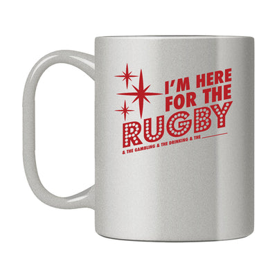I'm here for the rugby and stuff Mug