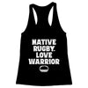 Native Rugby Love Warrior Women's Racerback Tank