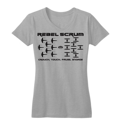 Rebel Scrum Engage Women's Tee