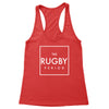 The Rugby Period Square Women's Racerback Tank