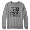 Ruck Maul Tackle Cancer (Black) Crewneck