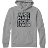 Ruck Maul Tackle Cancer (Black) Hoodie