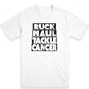 Ruck Maul Tackle Cancer (Black) Men's Tee