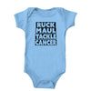 Ruck Maul Tackle Cancer (Black) Onesie