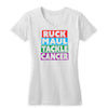 Ruck Maul Tackle Cancer (Color) Women's V