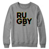 Rugby in 3D Crewneck