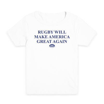 Rugby Will Make America Great Again Kid's Tee