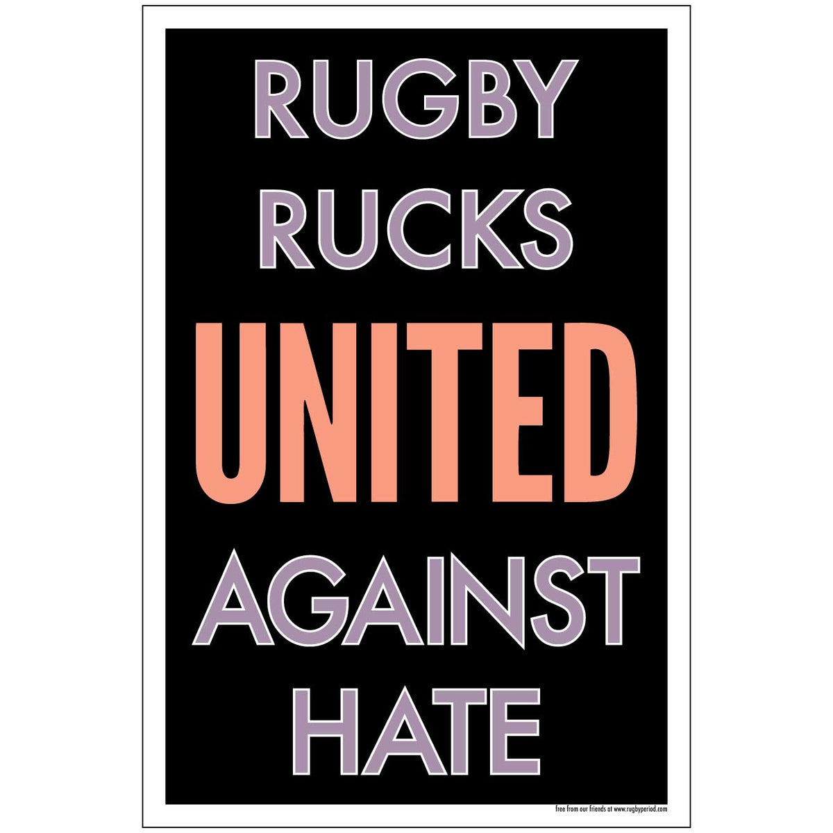 Rugby United Poster