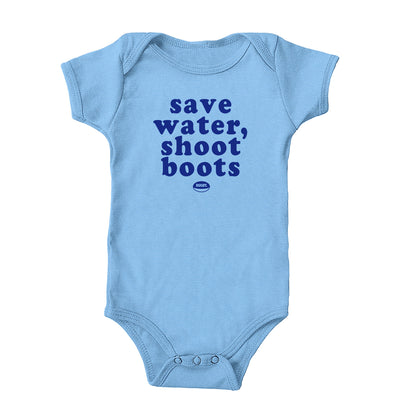 Save Water Shoot Boots Onesie