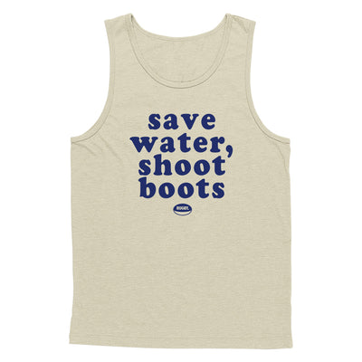 Save Water Shoot Boots Tank Top