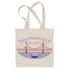 San Francisco Rugby Tote Bag